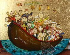 Russian Art Gallery - Lost Imerlishvili, Otar 1970 was born in Tbilisi, Georgia Classic Artwork, Art For Sale Online, Russian Art, Contemporary Paintings, Impressionist, Art Gallery, Fine Art, Inspiration, Image