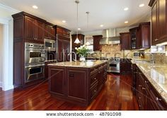 Awesomebrandi Kitchen Layout Similar To Our Current One Cherry Inspiration Cherrywood Kitchen Designs Inspiration