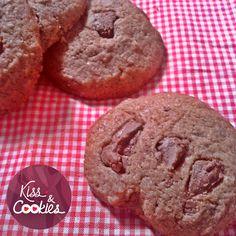 Chocolate Cookies <3  http://kissandcookies.blogspot.com.br/2015/04/docura-cookies-de-chocolate.html