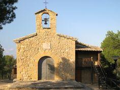 Aragón. Teruel. Matarranya. La Portellada. Ermita de S.Miguel