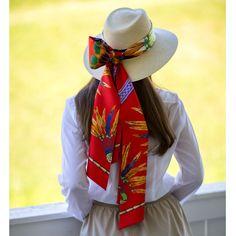 Hermes Brazil maxi twilly #hermes #brazil #scarf                                                                                                                                                      More