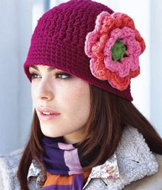 floral cloche hat