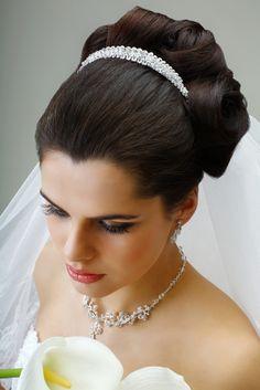 Tiare cristal swarovski mariage