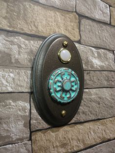 Nautical Seaside Crab Lighted Wired Doorbell By