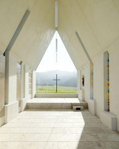 Chapel Maria Magdalena by Sacher Locicero architects