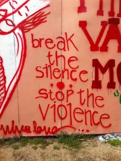 Break the Silence - Stop the Violence Domestic Violence Quotes, Freedom Is A State Of Mind, Social Stigma, Stop Racism, Abuse Quotes, Different Emotions, Sidewalk Art, Powerful Images, What Is Life About