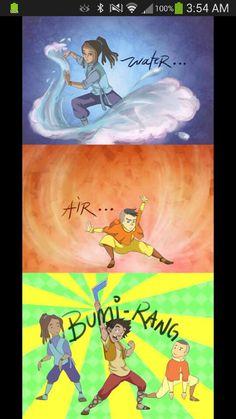 BAHAHAHA Kya and Tenzin sure put up with a lot. XD