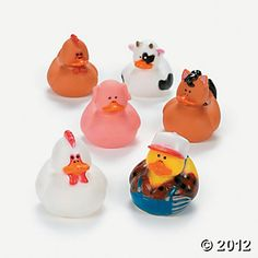 Farm Rubber Duckies