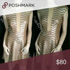 Bebe Gold Dress XS Circle New with tags bebe Dresses Mini