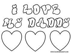 Fathers Day Adult Coloring Pages