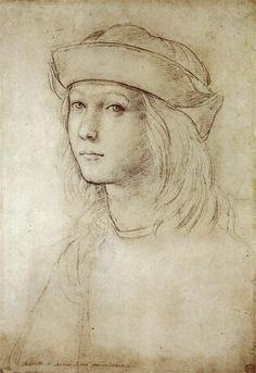 Art by Raffaello Sanzio (1483-1520) Autoritratto, c.1499