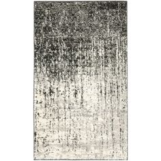 Deco Inspired Black/ Grey Rug (3' x 5') | Overstock.com Shopping - Great Deals on Safavieh 3x5 - 4x6 Rugs