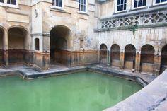 Los baños de Aquae Sulis, Bath, Inglaterra