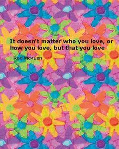 Rod McKuen - my favorite poet