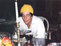 John Kennedy Jr celebrates a birthday in the Peapack Dining Room