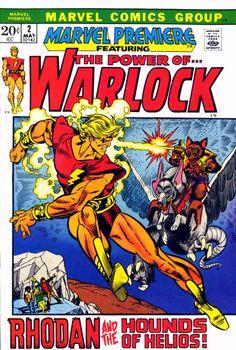 The Power if WARLOCK (1972) vintage comic book.
