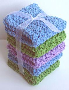 Crochet Dishcloths Washcloths