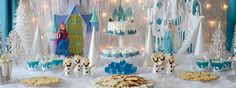 NOT NECESSARILY SPOONFUL BUT THIS FITS THE BILL... WONDERFULLY DISNEY Disney FROZEN Party!!!
