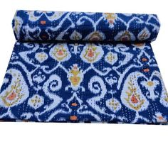 Kantha Quilt, Quilts, Kantha Stitch, Beach Blanket, Cotton Blankets, Bed Covers, Hand Stitching, Cotton Fabric, Quilt Bedding