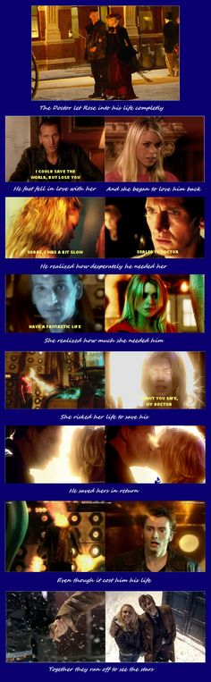 The Doctor and Rose: The OTP to rule them all.