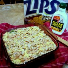 Low calorie chicken and broccoli casserole
