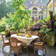Having the most beautiful patio in the world won't do you much good if you don't spend time there. So look for outdoor furniture that's comfy -- and matches your personal style