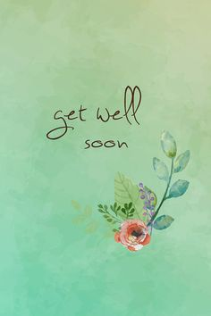 Get well soon card by RebeccalynneDesign on Etsy