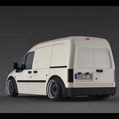 Company Van Yea Slammed Ford Transit Transitvan Van Stance Hellaflush Offset Totallystance Camber Tucking