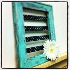 Creative Jewelry Hanger from an Old Picture Frame