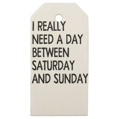 #weekend wooden gift tags - #saturday #saturdays