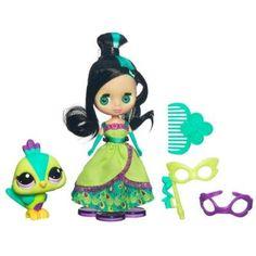Blythe Loves Littlest Pet Shop - Gorgeous in Green # B44