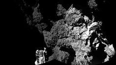 Accu komeetverkenner voorlopig leeg