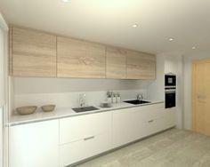 100 idee di cucine moderne con elementi in legno | Ιδέες για το ...