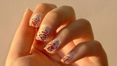3D polka dots #nailart - details: http://bit.ly/howto-refresh-manicure