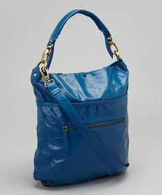 Love this Blue Francesca Crossbody Bag by Latico Leather on #zulily! #zulilyfinds