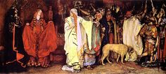 Edwin Austin Abbey, King Lear (1898)            Ye jewels of our father, with washed eyes  Cordelia leaves you. I know what you are;  And, like a sister, am most loth to call  Your faults as they are named. Love well our father.  To your professed bosoms I commit him.  But yet, alas! stood I within his grace,  I would prefer him to a better place.  So farewell to you both.