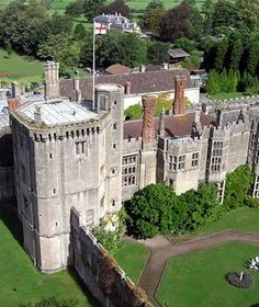 Thornbury Castle, South Gloucestershire England by Dianne - Thornbury Castle is 500 years old and the only Medieval castle in the UK to open as an hotel.