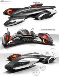 Top 10 Futuristic Concept Car Designs, Flying Car, Magnet CarHere are the list of the top 10 concept cars of the future. Futuristic Motorcycle, Futuristic Cars, Audi Concept, Design Transport, Design Autos, Design Cars, Automobile, Flying Car, Car Design Sketch