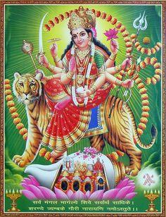 Vaishno Devi - Hindu Posters (Reprint on Paper - Unframed) Shiva Images Hd, Maa Kali Images, Durga Images, Lakshmi Images, Shiva Art, Krishna Art, Hindu Art, Shiva Shakti, Durga Ji