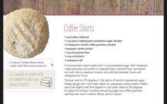 Instant Coffee, Corn Starch, Powdered Sugar, Food To Make, Vanilla, Cookies, Book, Recipes, Biscotti