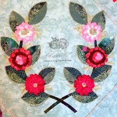 Ruched Rose Wreath by Mercy Arrastia Savage