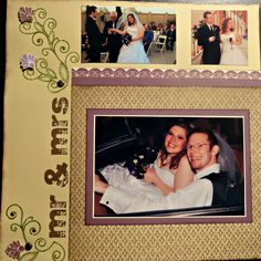 Wedding Scrapbooks:  Men, if you put one of these together for your bride, and do it in secret, you will go down in the hall of fame of great husbands.. she will not stop bragging about you
