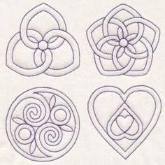 Art Quilting Knots 8 quilting designs with. Celtic and Pennsylvania quilting-patterns-techniques