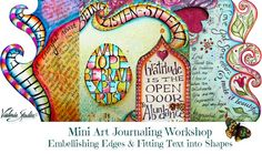 visual blessings: Mini Online Art Journaling Workshop Invitation! {taking this mini workshop now - such gorgeous artwork by Valerie Sjodin!}