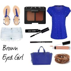 """Brown eyed Girl"" by pet387 on Polyvore"