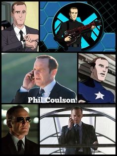 Phil Coulson: Super agent and Ultimate Fan-boy.