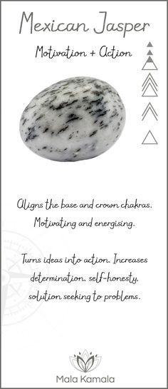 What is the meaning and crystal and chakra healing properties of mexican jasper? A stone for motivation and action.