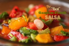Once I had this Salsa Recipe, I knew I needed to have the recipe. It's a simple homemade salsa, but it's really special. I lost the recipe for awhile and searched and searched until I FINALLY found it again. Enjoy!
