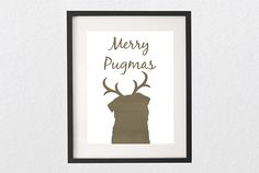 Get your Merry Pugmas free printable that is especially designed for The Pug Diary readers. Use it to print out and frame to hang on your wall. Pug Breed, Pug Art, Amazing Drawings, Pug Life, Christmas Dog, Free Printables, Dog Lovers, Free Stuff, Merry