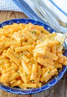 Creamy Vegan Mac and Cheese is the best vegan mac and cheese recipe and it is gluten-free and vegan. Creamy Vegan Mac and Cheese is the best vegan mac and cheese recipe and it is gluten-free and vegan. Vegan Dinner Recipes, Vegan Dinners, Whole Food Recipes, Vegetarian Recipes, Healthy Recipes, Vegan Recipes For Kids, Free Recipes, Cashew Recipes, Vegan Recepies